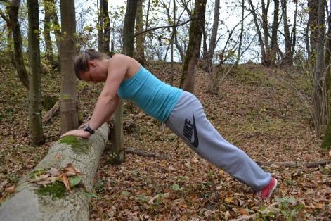 Körperspannung aufbauen