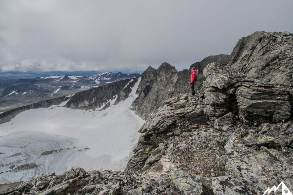 Snøhetta, Gletscher.